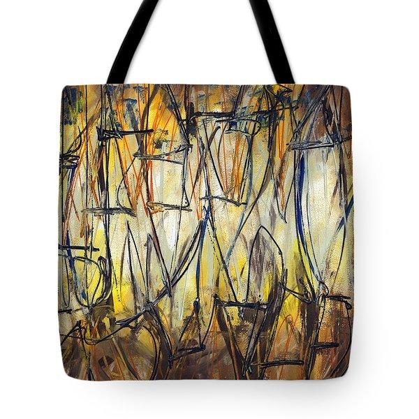 Contemporary Art Three Tote Bag