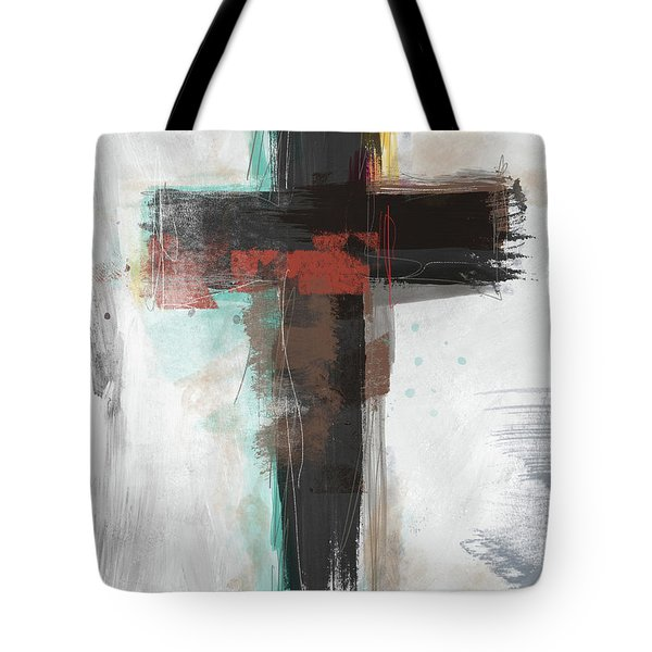Contemporary Cross 1- Art By Linda Woods Tote Bag