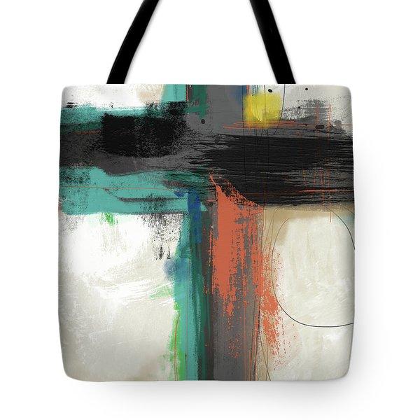 Contemporary Cross 2- Art By Linda Woods Tote Bag