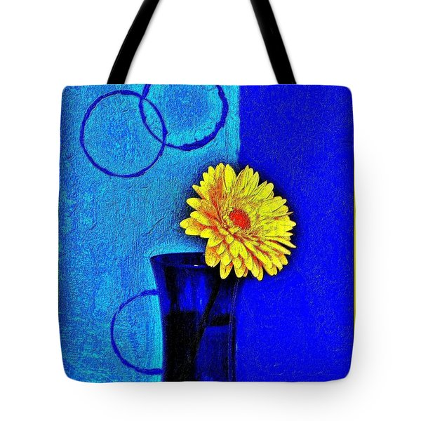 Tote Bag featuring the photograph Contemporary Gerber by Marsha Heiken