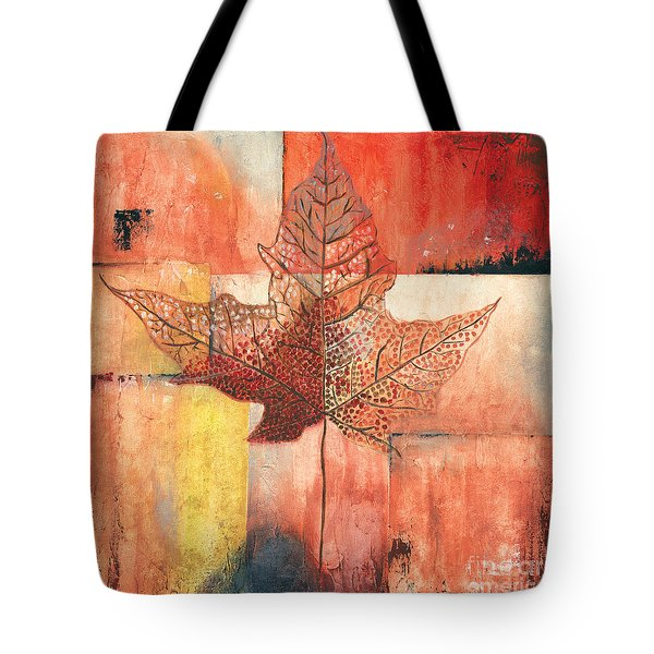 Contemporary Leaf 2 Tote Bag