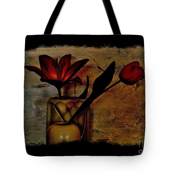 Tote Bag featuring the photograph Contemporary Still Life by Marsha Heiken