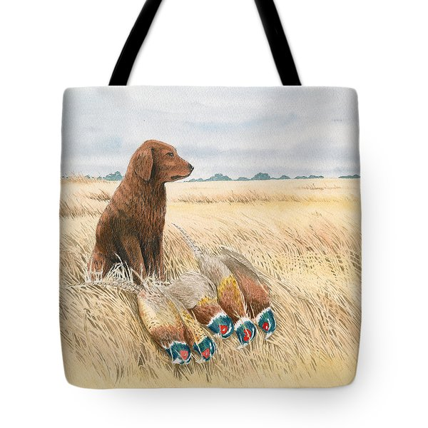 Content Golden Tote Bag