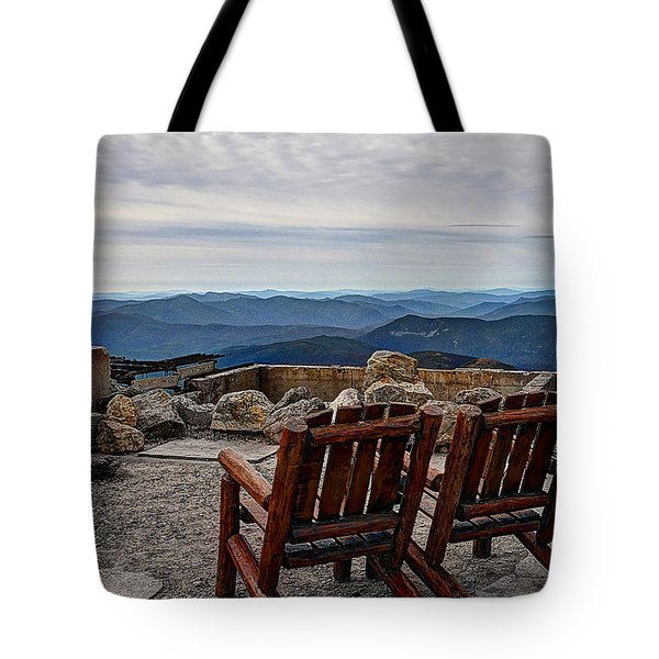 Contentment Tote Bag by Deborah Klubertanz