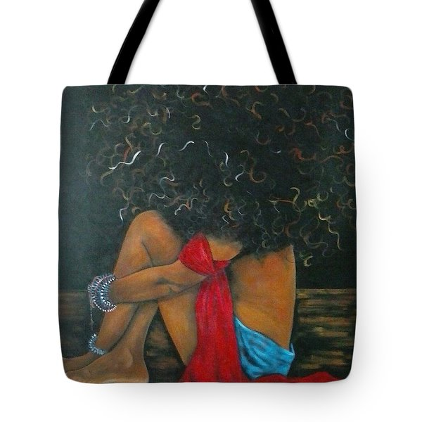 Contentment Tote Bag by Jenny Pickens