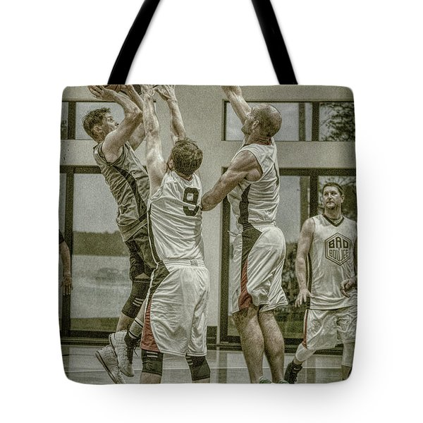 Tote Bag featuring the photograph Contested by Ronald Santini