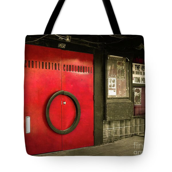 Continental Club Austin Tote Bag