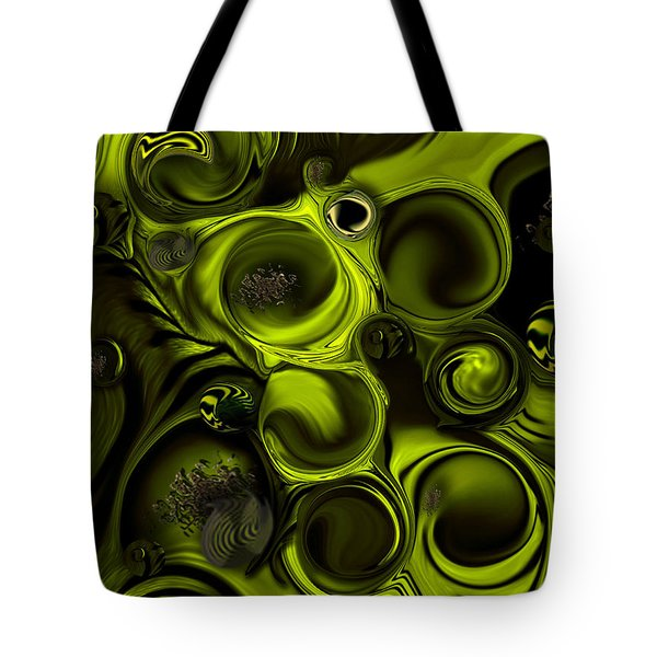 Continuation Or Substance Tote Bag by Carmen Fine Art