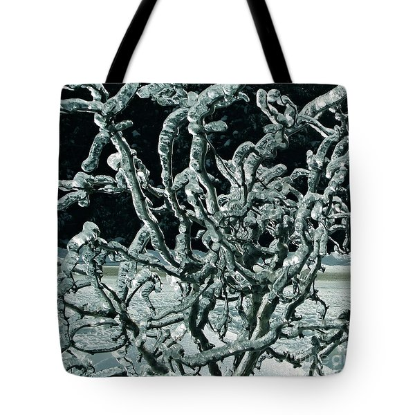 Contorted Tote Bag