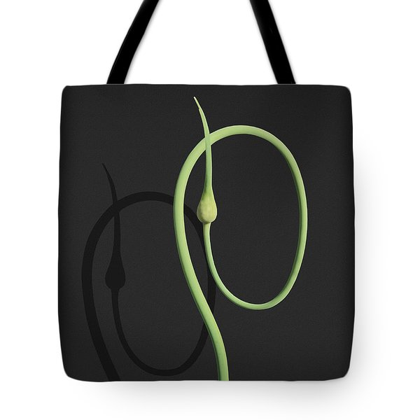 Contortionist Leek Tote Bag by Joe Bonita
