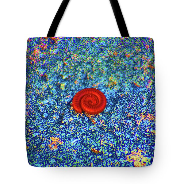 Tote Bag featuring the digital art Contractions by Joseph Keane