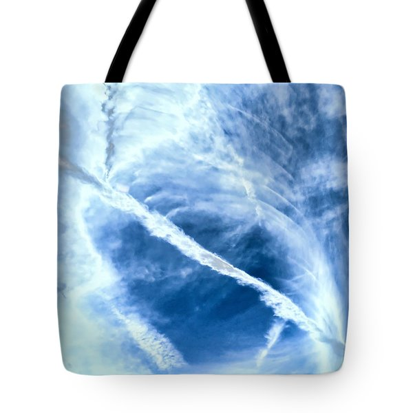 Contrail Concentricities Tote Bag