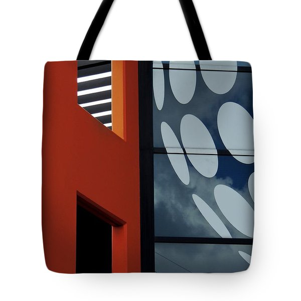 Contrasts In Abstract Tote Bag