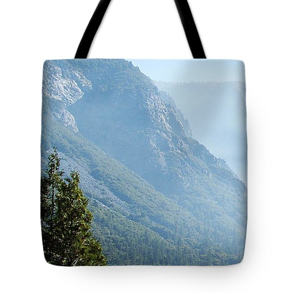 1 Of 4 Controlled Burn Of Yosemite Section Tote Bag