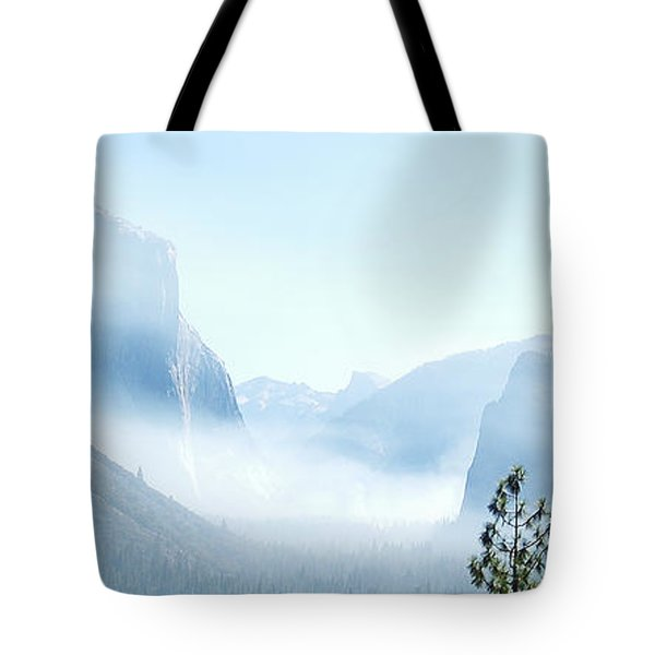 2 Of 4 Controlled Burn Of Yosemite Section Tote Bag