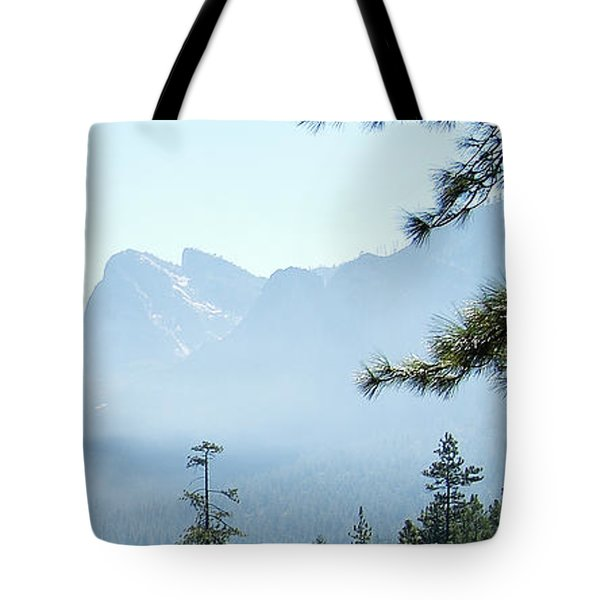 3 Of 4 Controlled Burn Of Yosemite Section Tote Bag