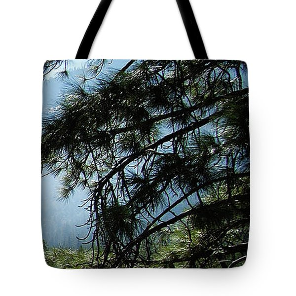 4 Of 4 Controlled Burn Of Yosemite Section Tote Bag