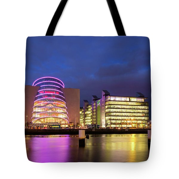 Convention Centre Dublin And Pwc Building In Dublin, Ireland Tote Bag