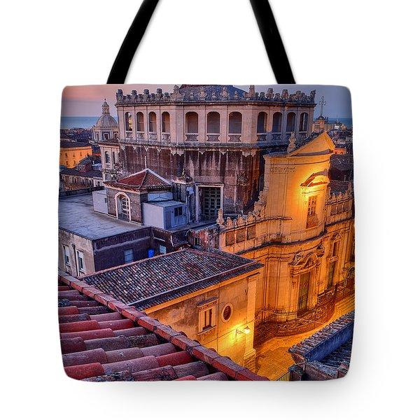 Convento Di San Giuliano Tote Bag by Robert Charity