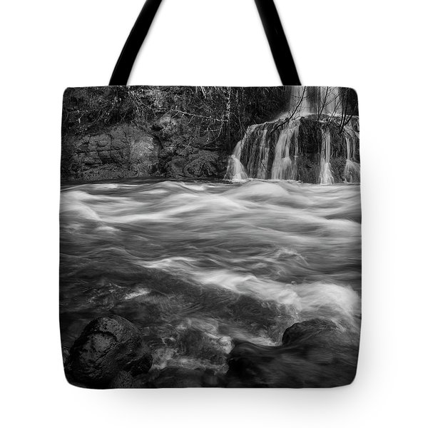 Convergence Bw Tote Bag