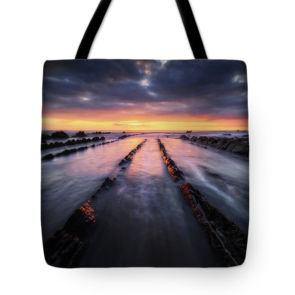 Converging To The Light Tote Bag
