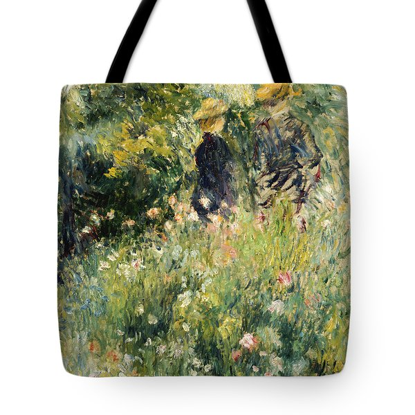 Conversation In A Rose Garden Tote Bag