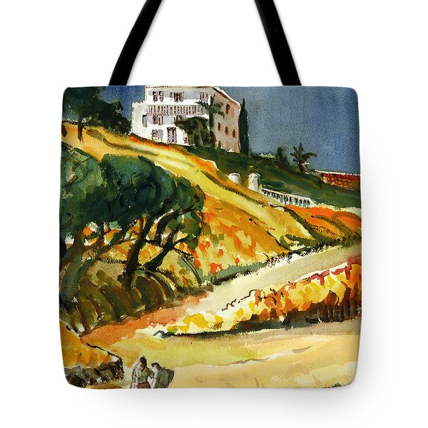 Conversation In The Afternoon Tote Bag