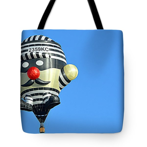 Tote Bag featuring the photograph Convict by AJ Schibig