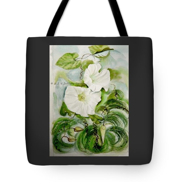 Convolvulus.3. Tote Bag by SJV Jeffery-Swailes