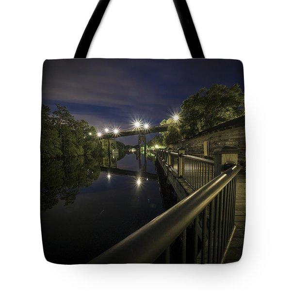 Conway Riverwalk Morning Tote Bag
