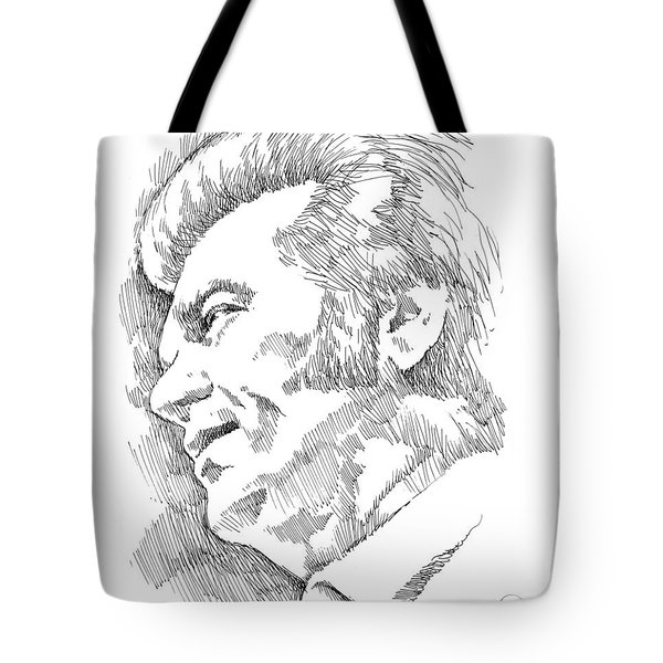 Conway Twitty Tote Bag