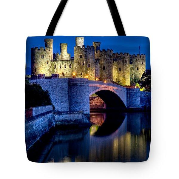 Conwy Castle Tote Bag