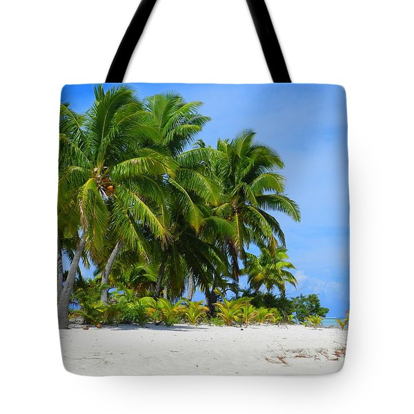 Cook Islands Tote Bag by Anne Gordon
