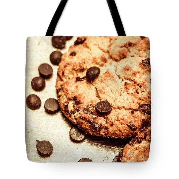 Cookies With Chocolare Chips Tote Bag