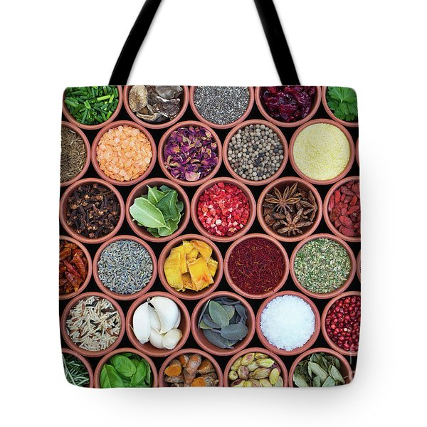Cooking Ingredients Tote Bag