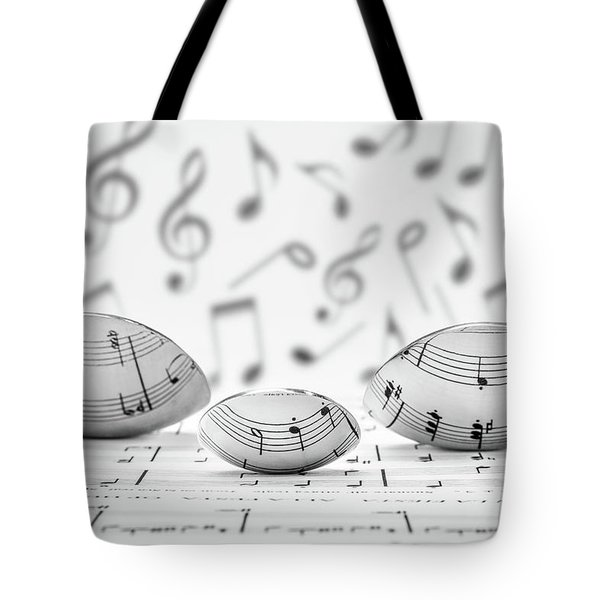 Cooking Is Like Music Tote Bag