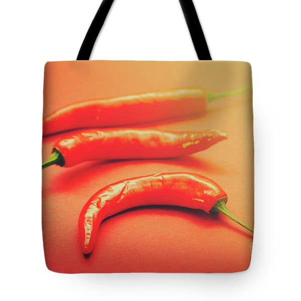 Cooking Pepper Ingredient Tote Bag