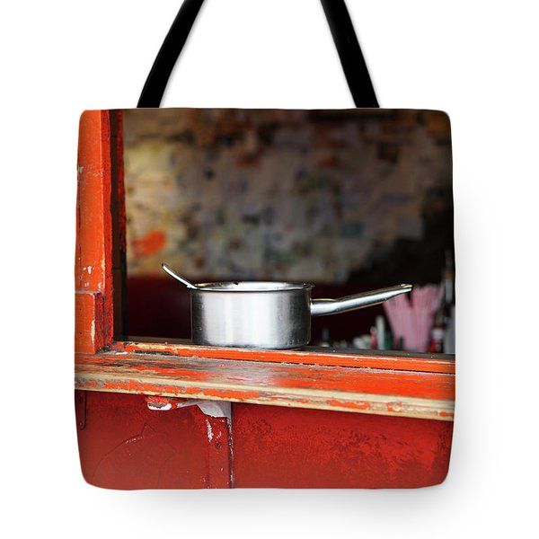 Cooking Pot Tote Bag