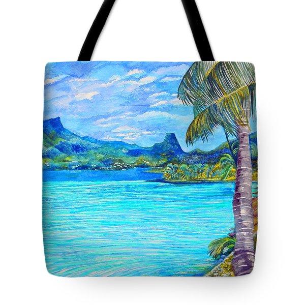 Cooks Bay Moorea Tote Bag