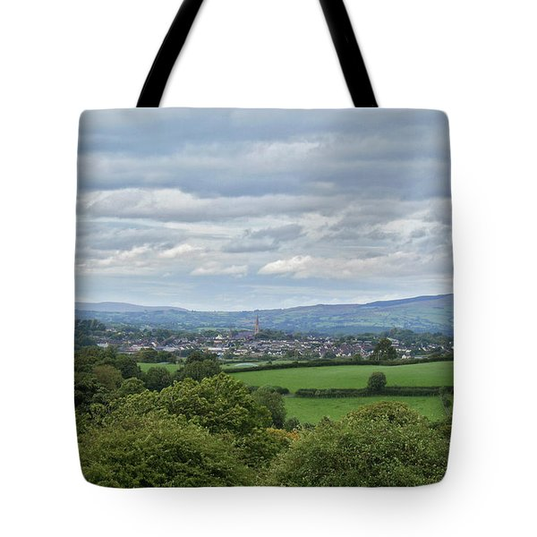 Cookstown Viewed From Tullyhogue Fort Tote Bag