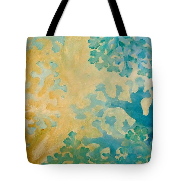 Cool Coral Tote Bag by Dina Dargo