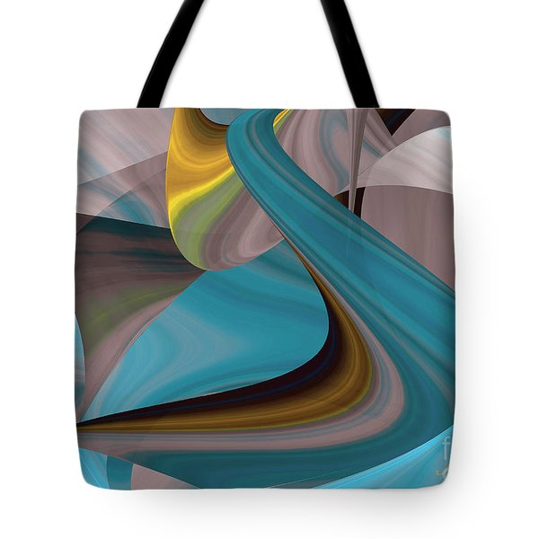 Cool Curvelicious Tote Bag