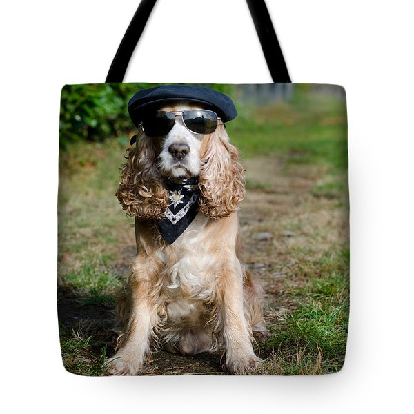 Cool Dog Tote Bag
