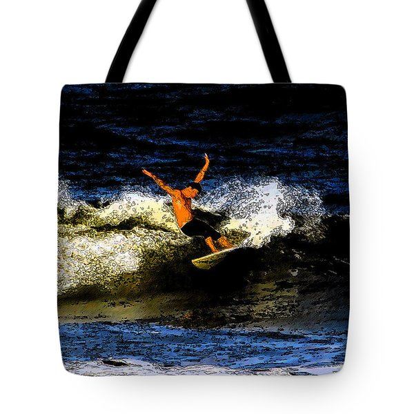 Cool Dude Tote Bag by David Lee Thompson