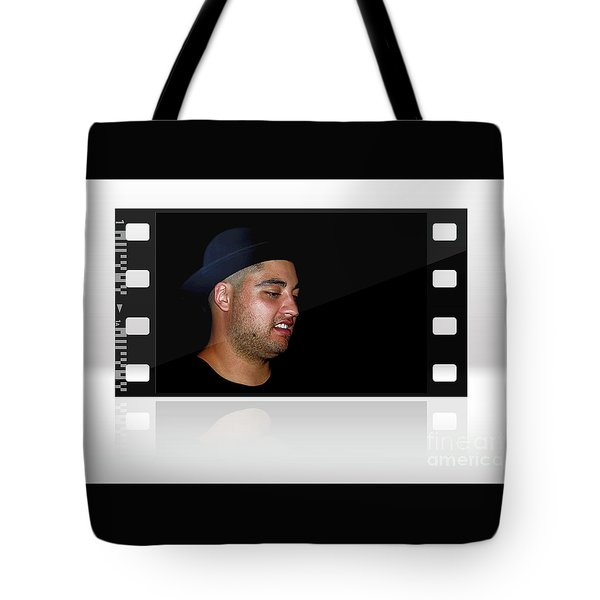 Tote Bag featuring the photograph Cool Dude On Film By Kaye Menner by Kaye Menner