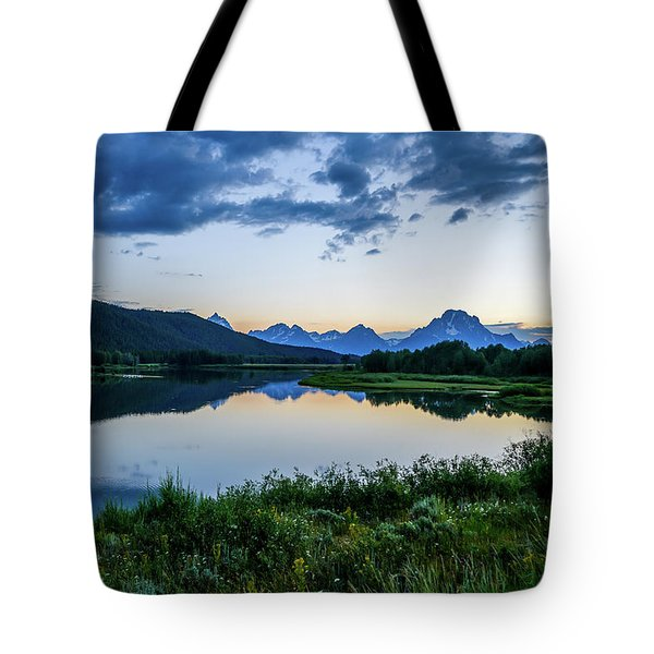 Cool Evening Tote Bag