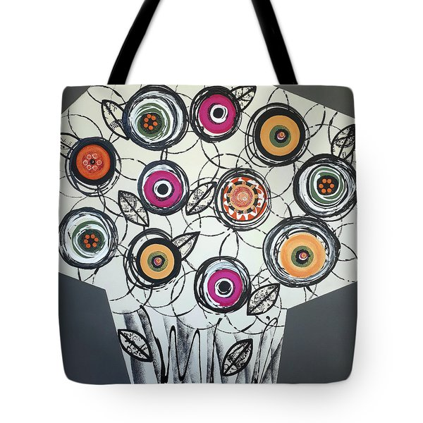 Cool Flowers Tote Bag