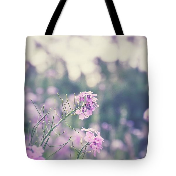 Tote Bag featuring the photograph Cool Flowers by Nikki McInnes