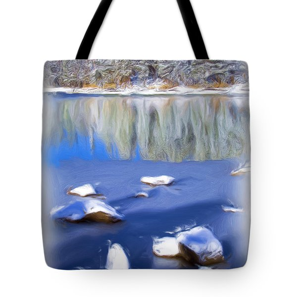 Cool Impression Tote Bag by Chris Brannen