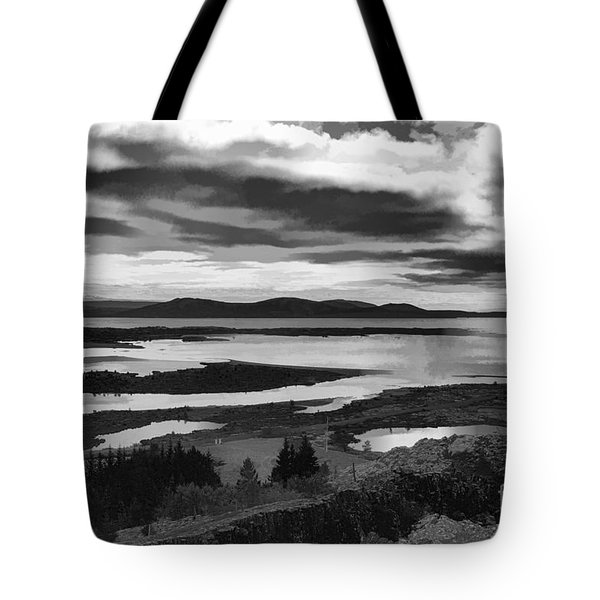 Cool Lakes Iceland Tote Bag